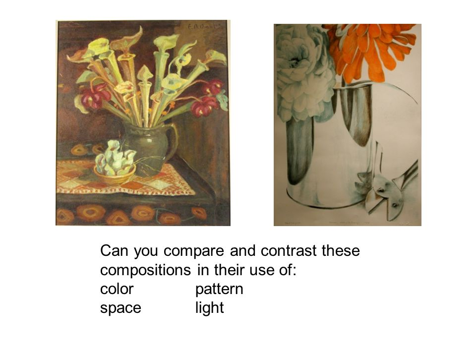 Can you compare and contrast these