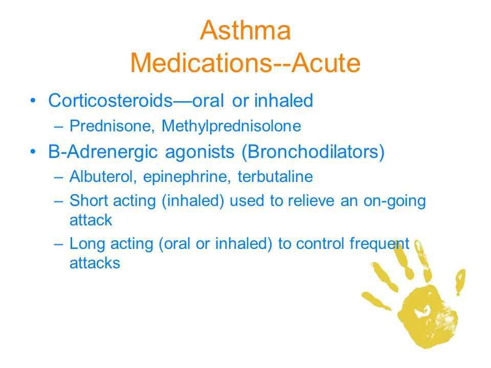 Asthma Medications--Acute