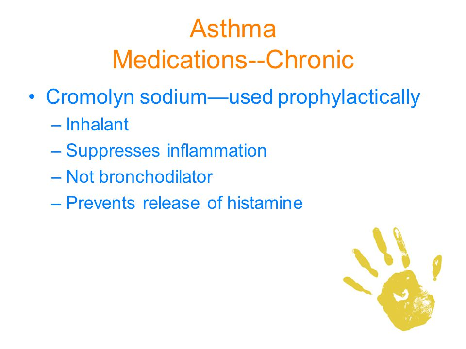Asthma Medications--Chronic