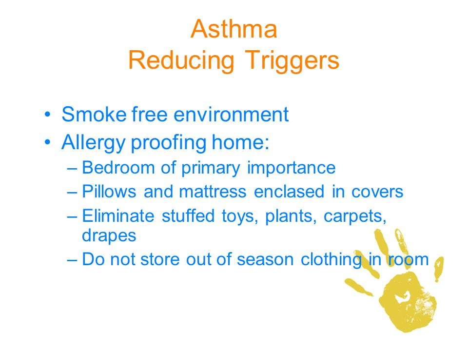 Asthma Reducing Triggers