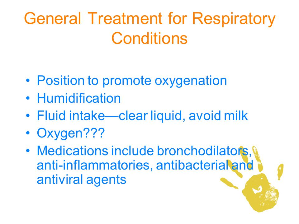 General Treatment for Respiratory Conditions