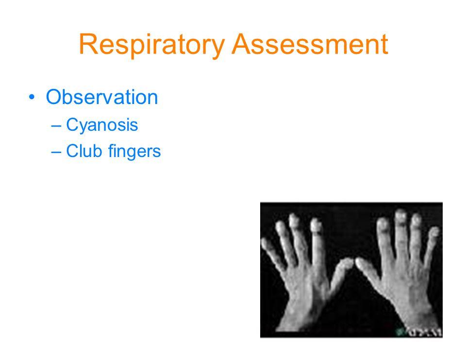 Respiratory Assessment