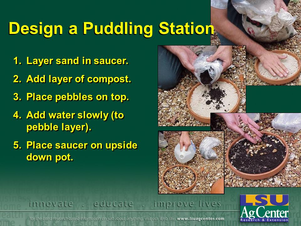 Design a Puddling Station