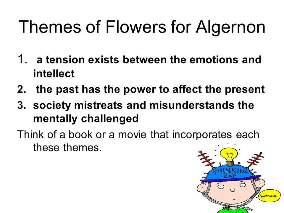 Themes of Flowers for Algernon