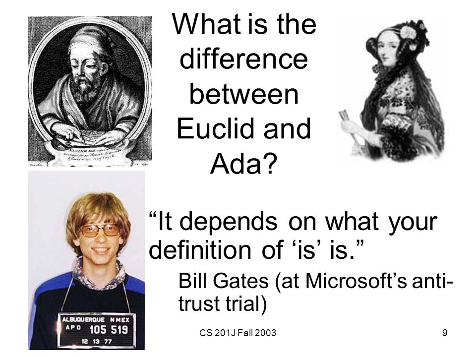 What is the difference between Euclid and Ada