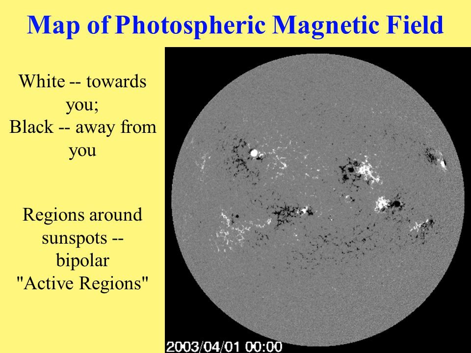 Map of Photospheric Magnetic Field