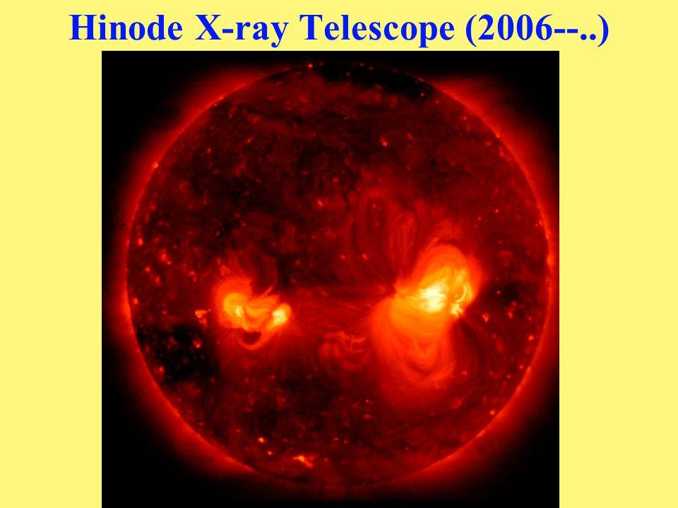 Hinode X-ray Telescope (2006--..)