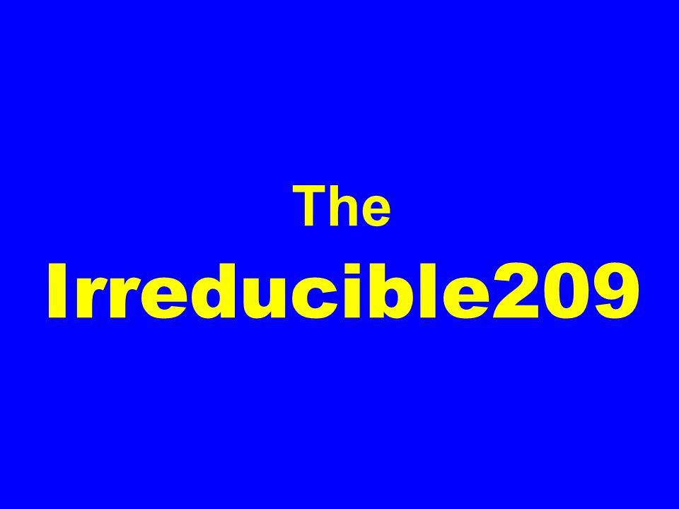 The Irreducible209
