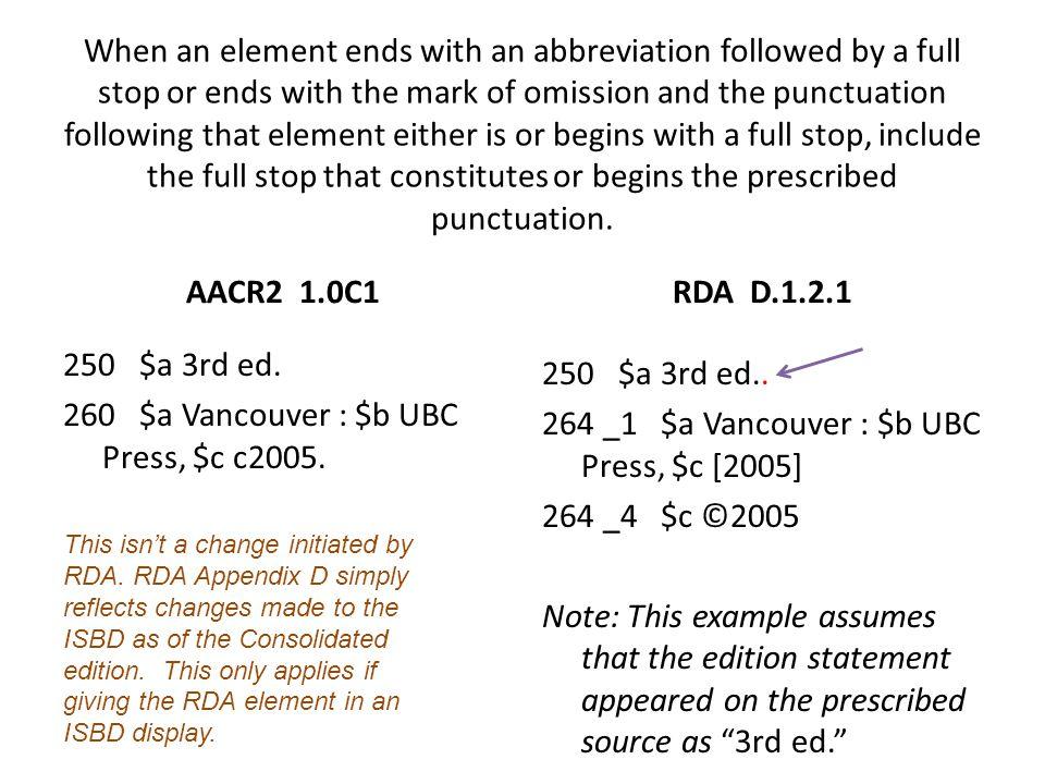 250 $a 3rd ed. 260 $a Vancouver : $b UBC Press, $c c2005.