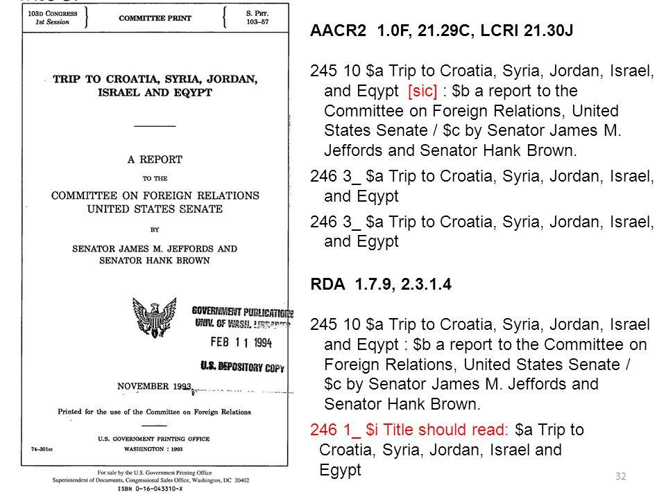 245 10 $a Trip to Croatia, Syria, Jordan, Israel,