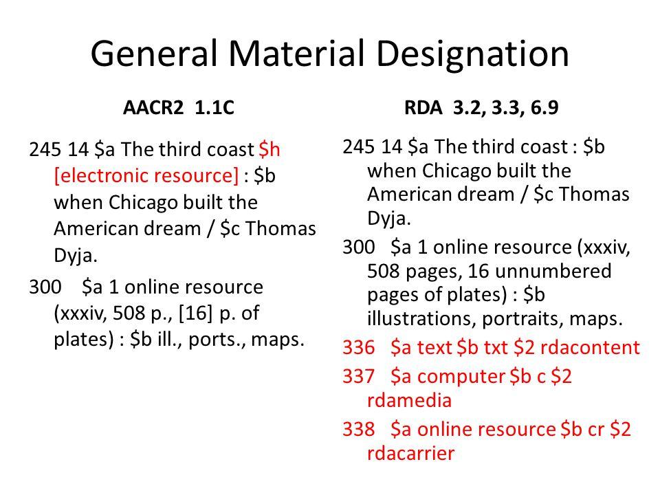 General Material Designation