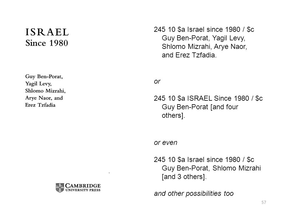 Guy Ben-Porat, Yagil Levy, Shlomo Mizrahi, Arye Naor,