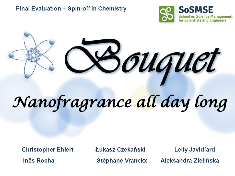 Nanofragrance all day long