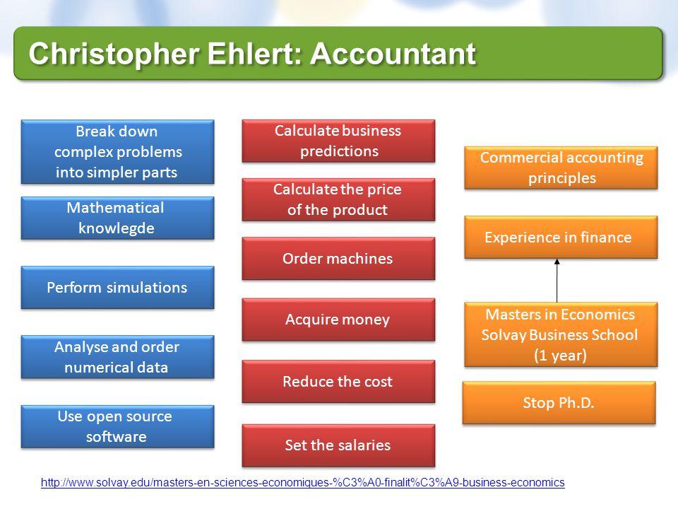 Christopher Ehlert: Accountant