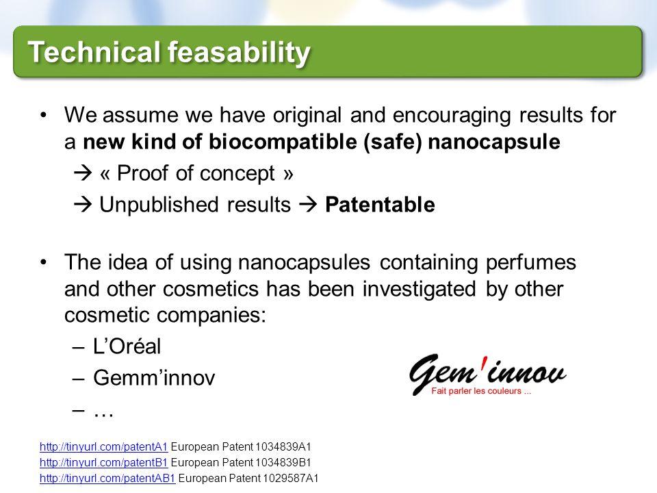 Technical feasability