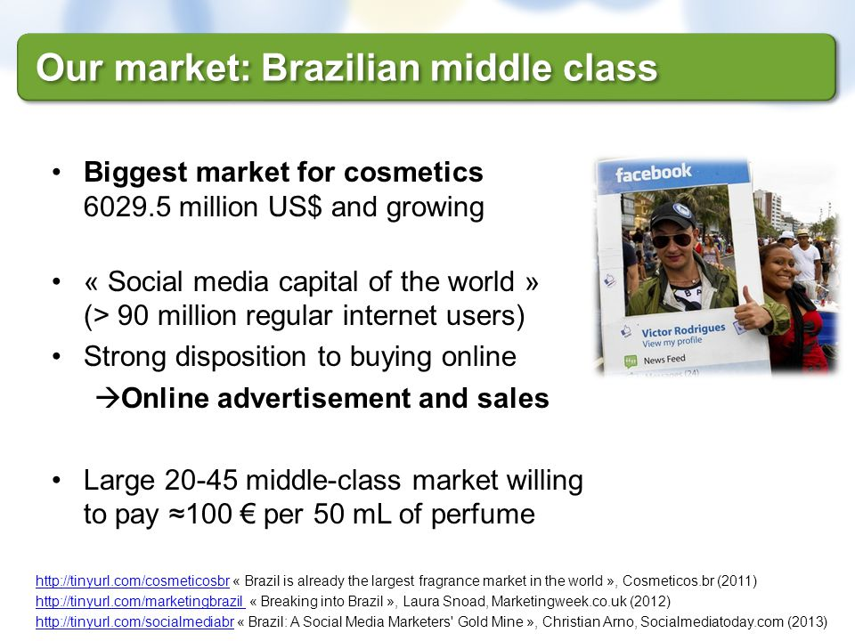 Our market: Brazilian middle class
