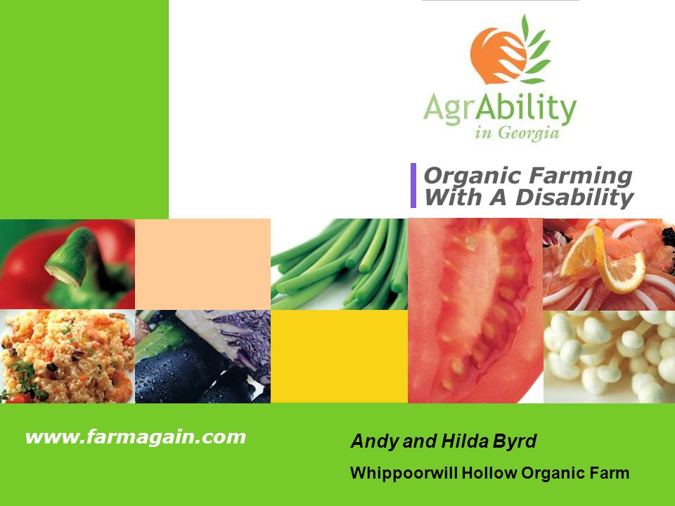 Organic Farming With A Disability