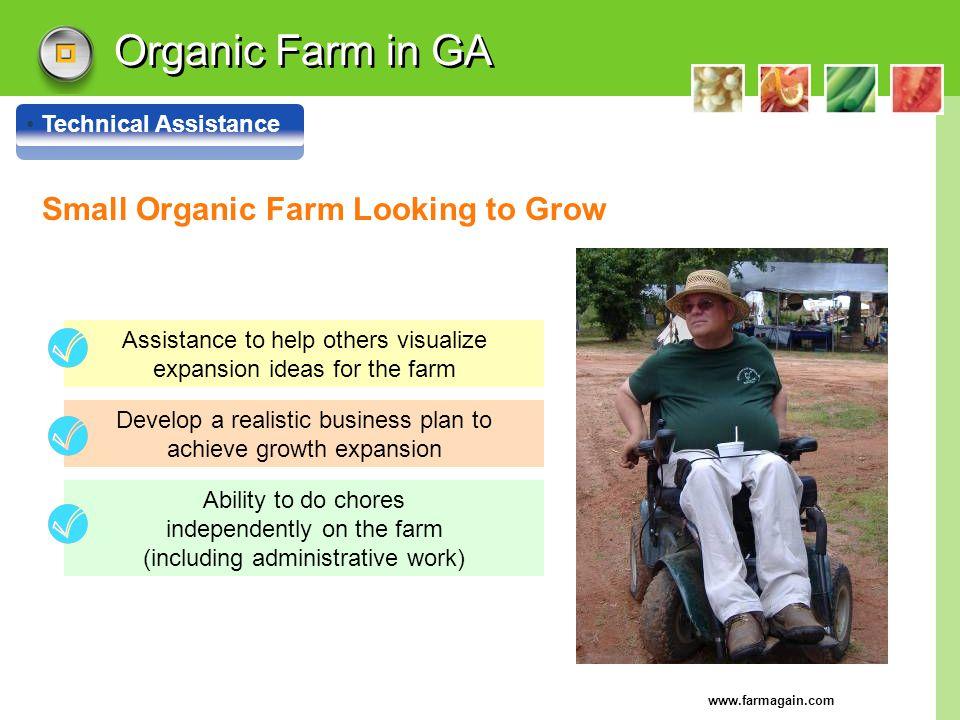 Organic Farm in GA Small Organic Farm Looking to Grow