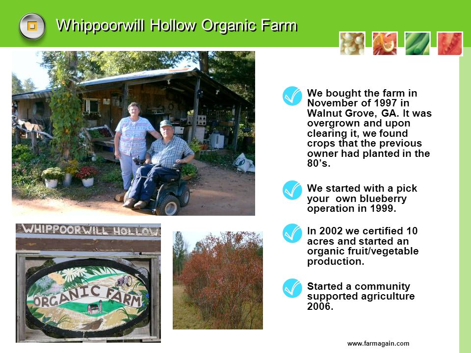 Whippoorwill Hollow Organic Farm