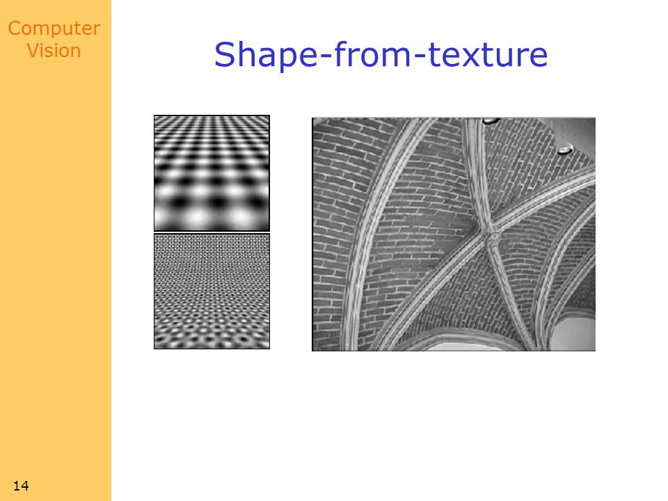 Shape-from-texture