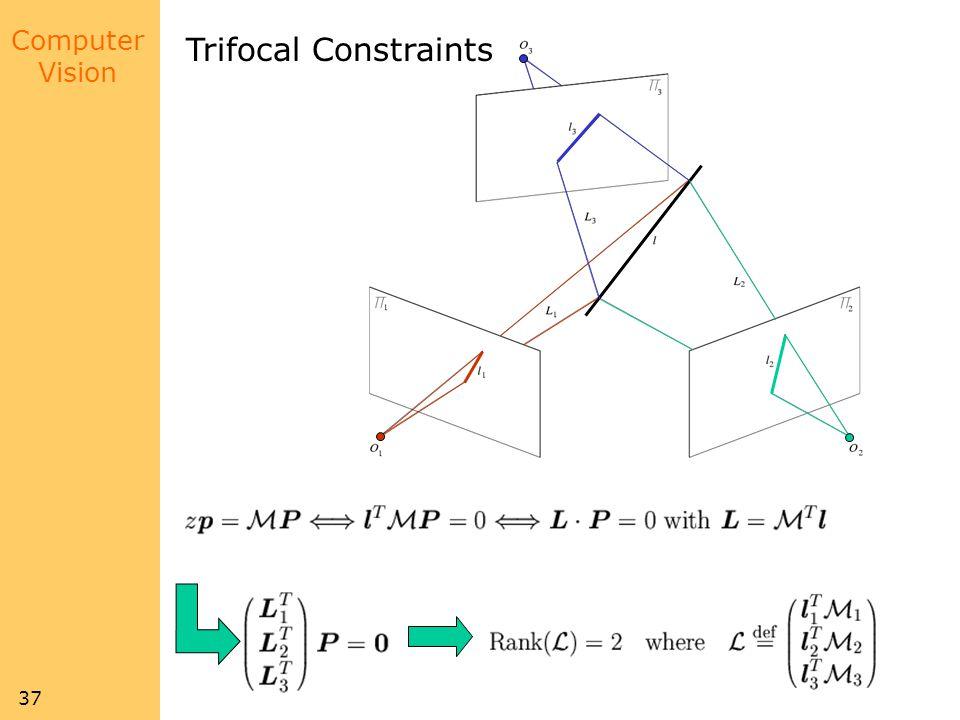 Trifocal Constraints