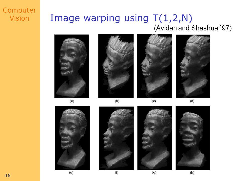 Image warping using T(1,2,N)
