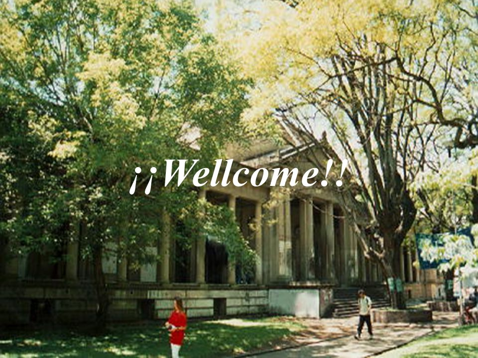 ¡¡Wellcome!!