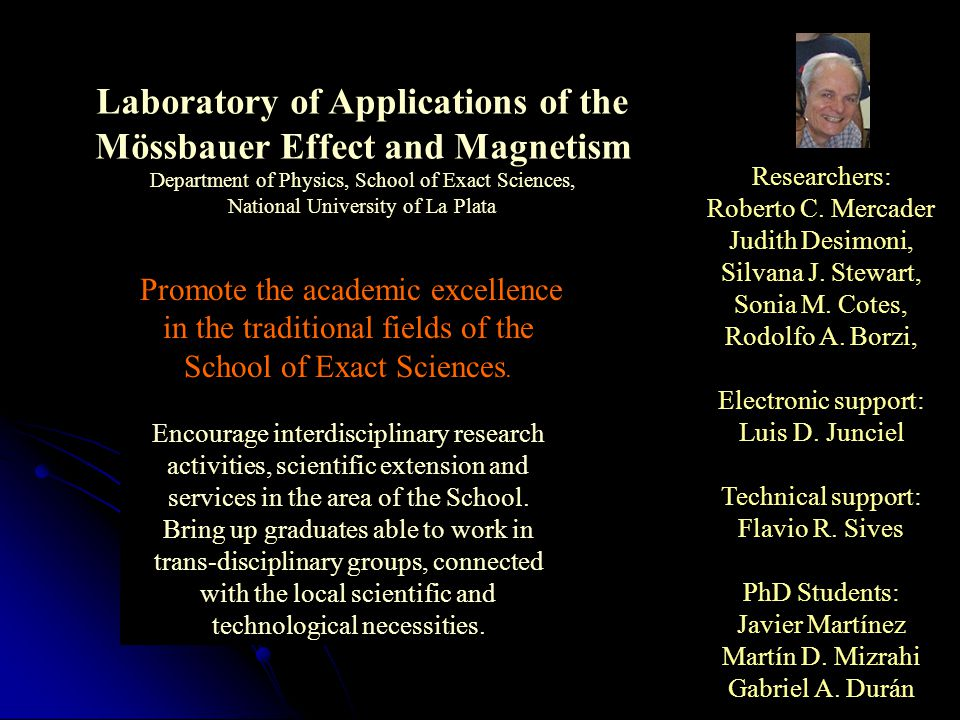 Laboratory of Applications of the Mössbauer Effect and Magnetism