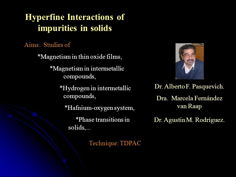 Hyperfine Interactions of impurities in solids