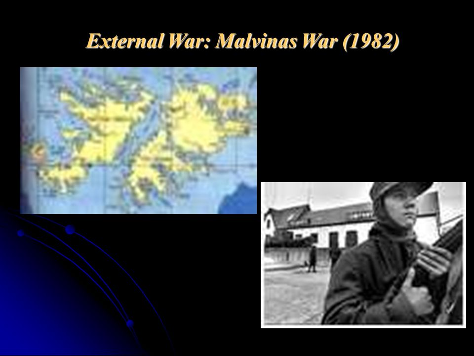 External War: Malvinas War (1982)