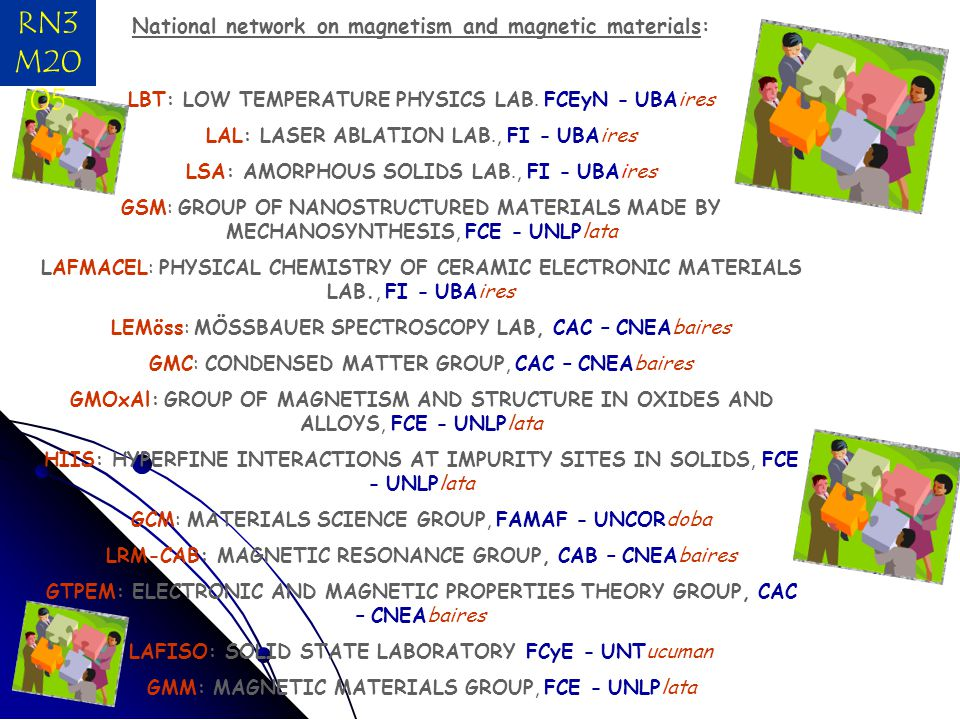 National network on magnetism and magnetic materials: