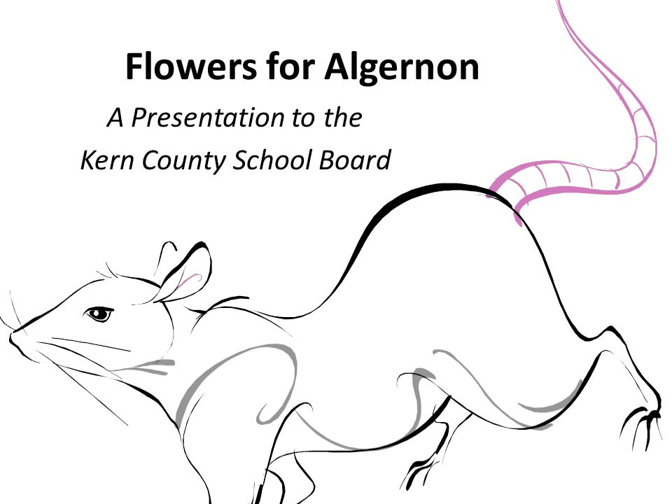 A Presentation to the Kern County School Board