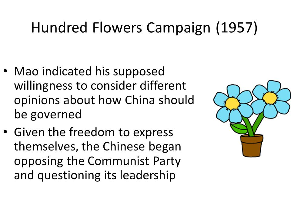 Hundred Flowers Campaign (1957)