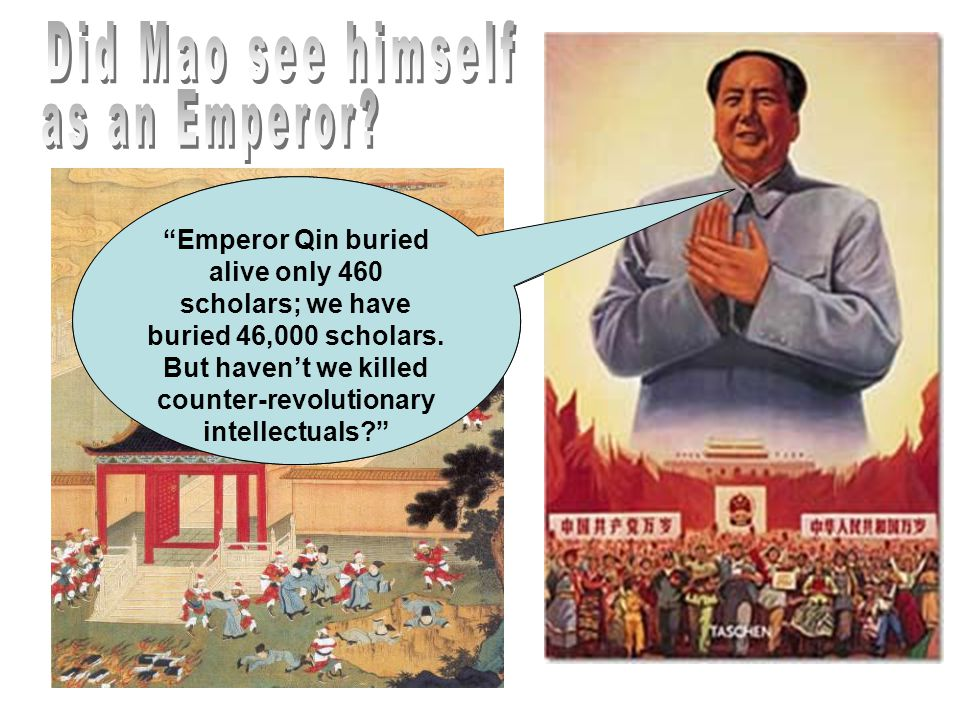Did Mao see himself as an Emperor