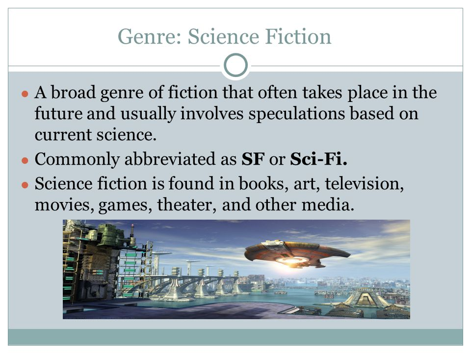 Genre: Science Fiction