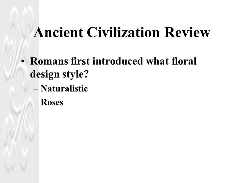 Ancient Civilization Review