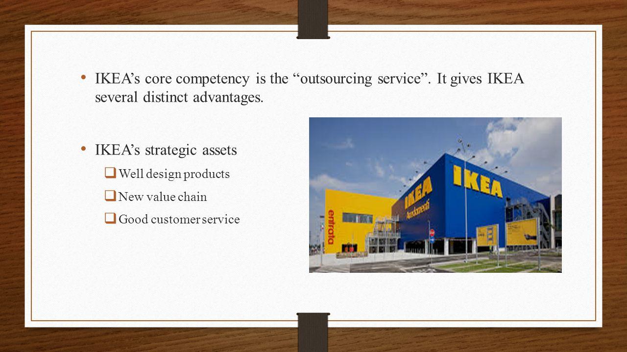 IKEA's strategic assets