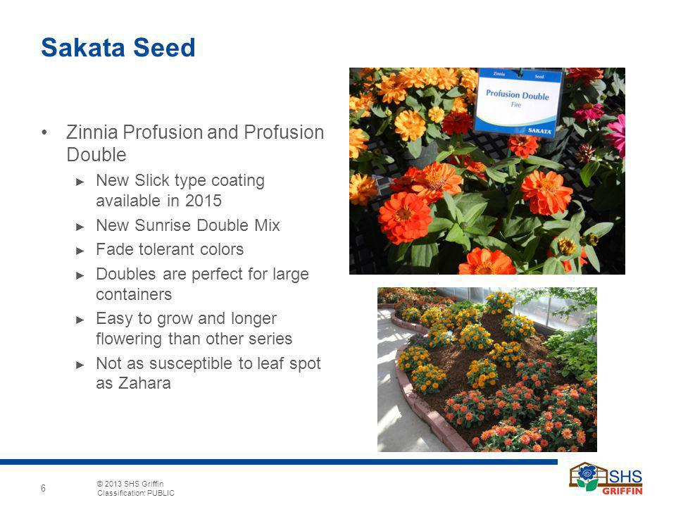 Sakata Seed Zinnia Profusion and Profusion Double