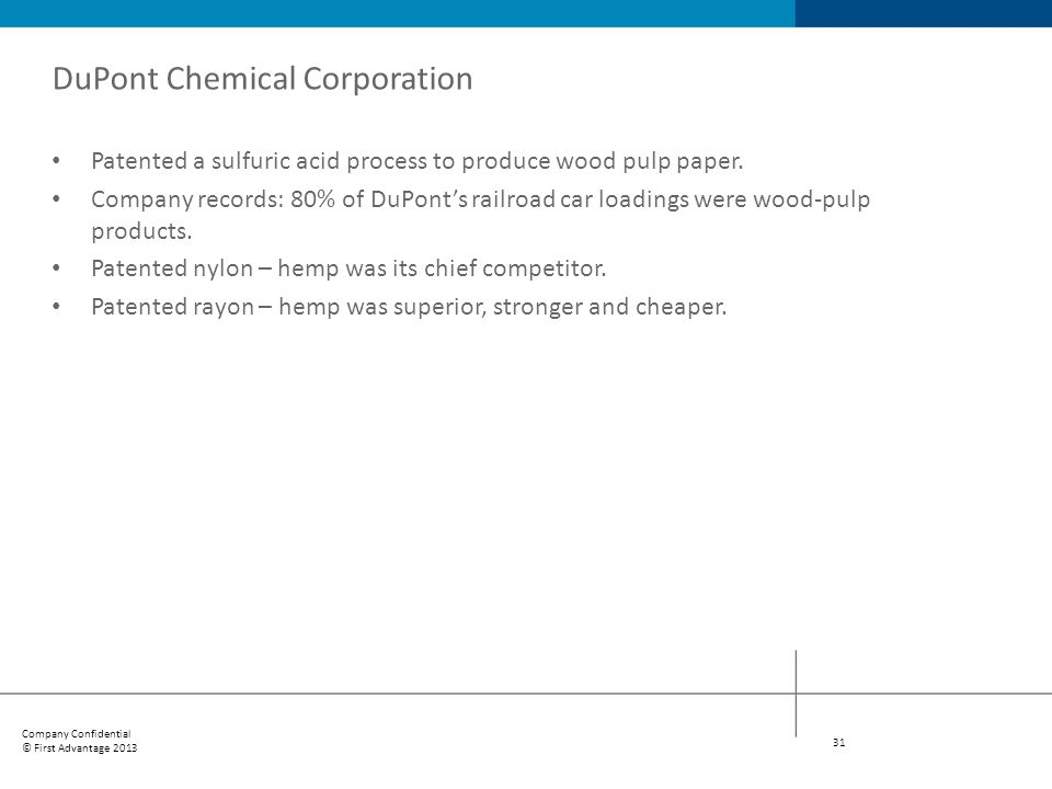 DuPont Chemical Corporation