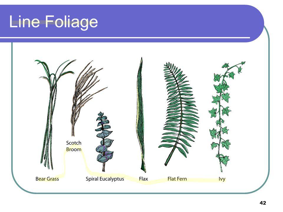 Line Foliage