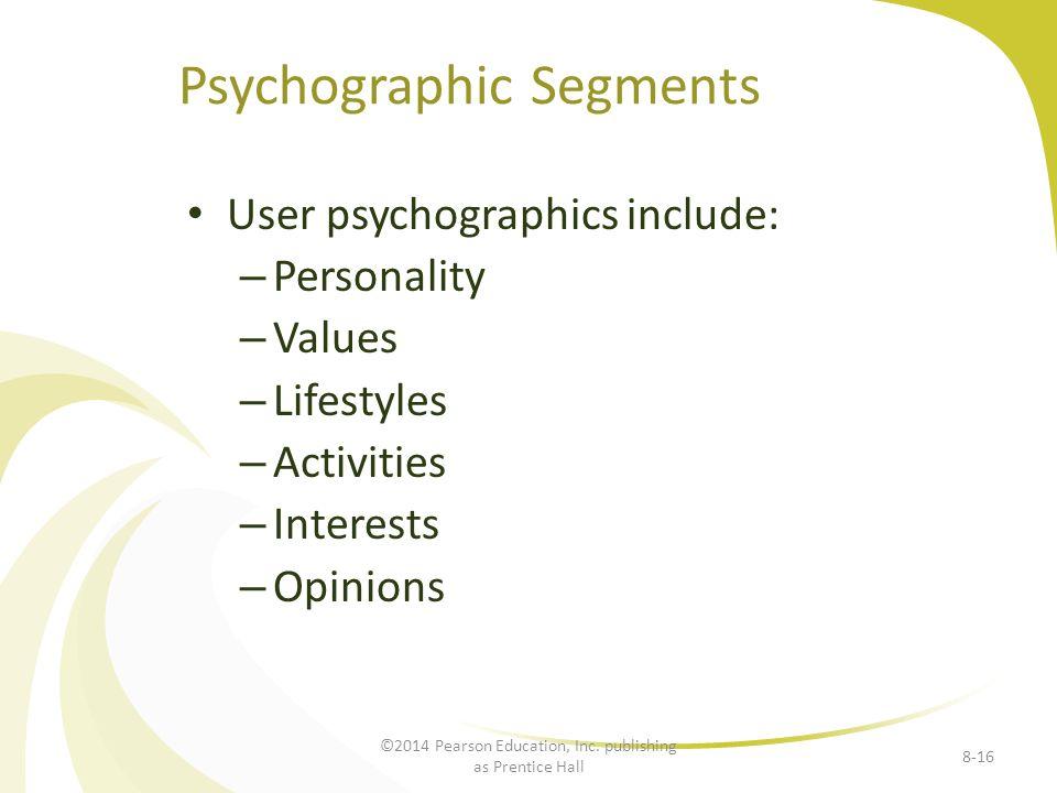 Psychographic Segments