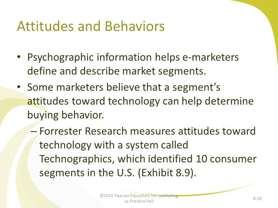 Attitudes and Behaviors
