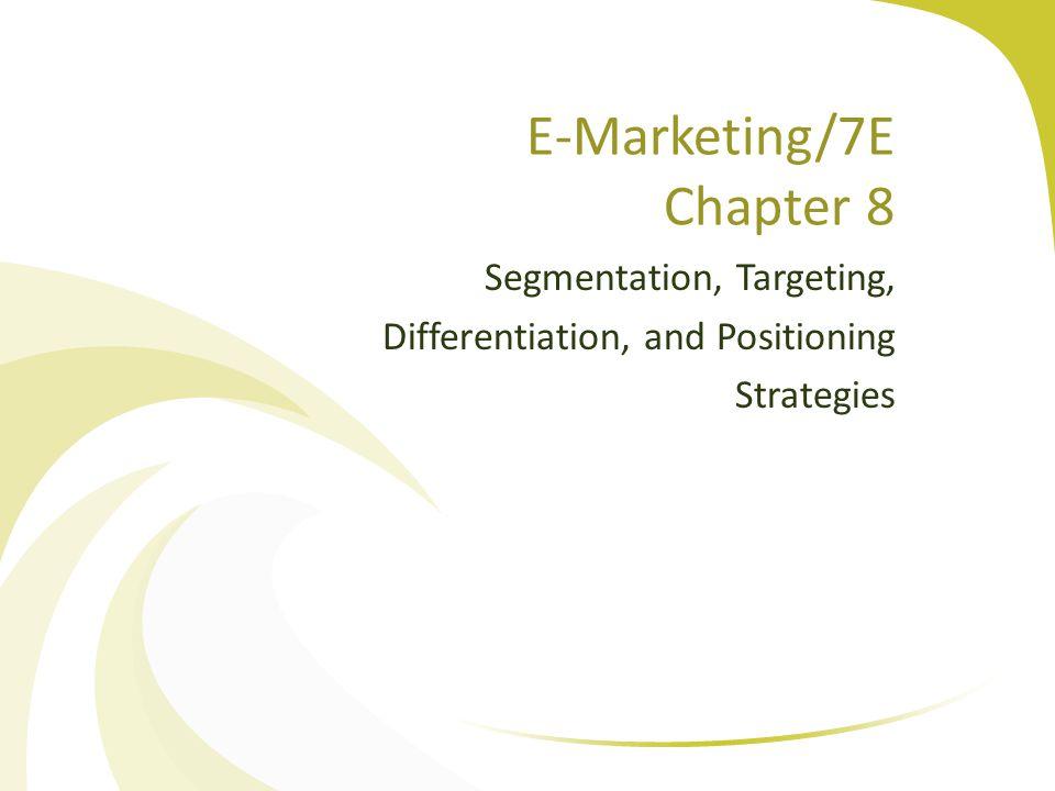 E-Marketing/7E Chapter 8