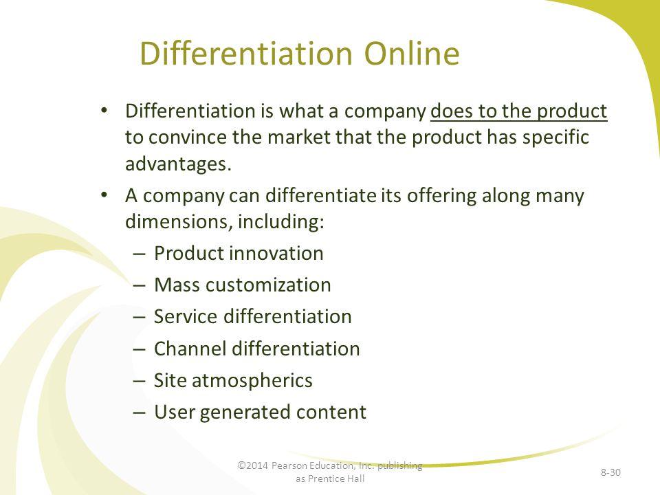 Differentiation Online
