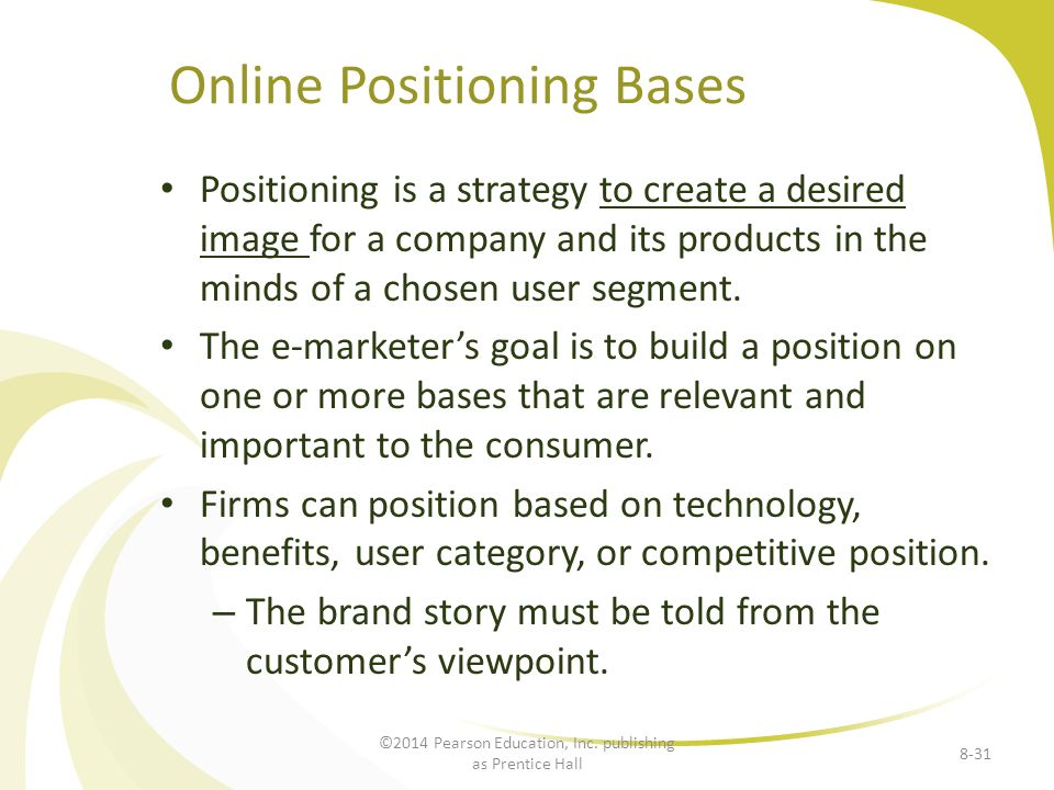 Online Positioning Bases