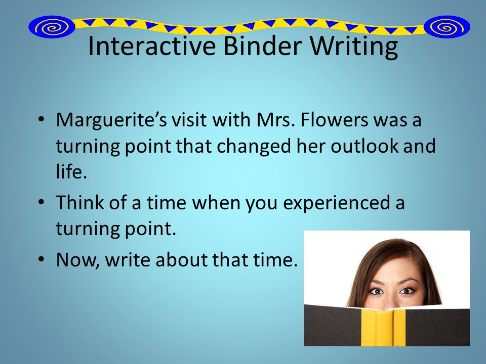 Interactive Binder Writing