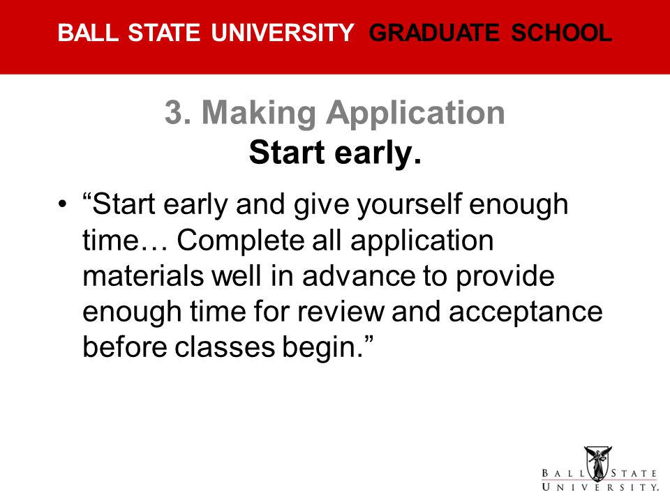 3. Making Application Start early.