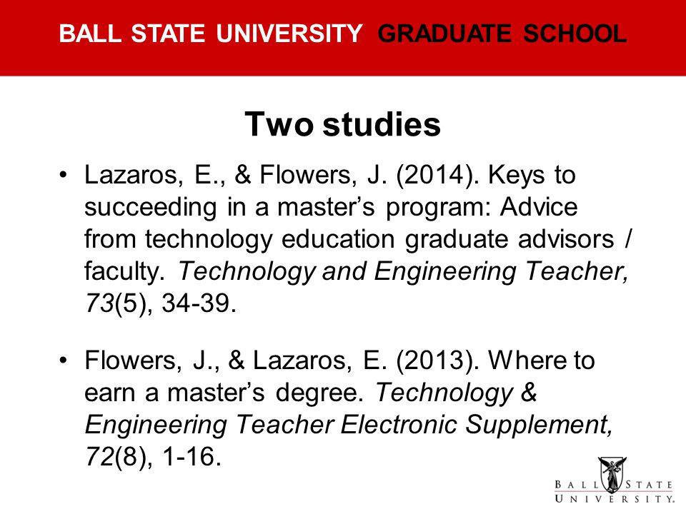 Two studies