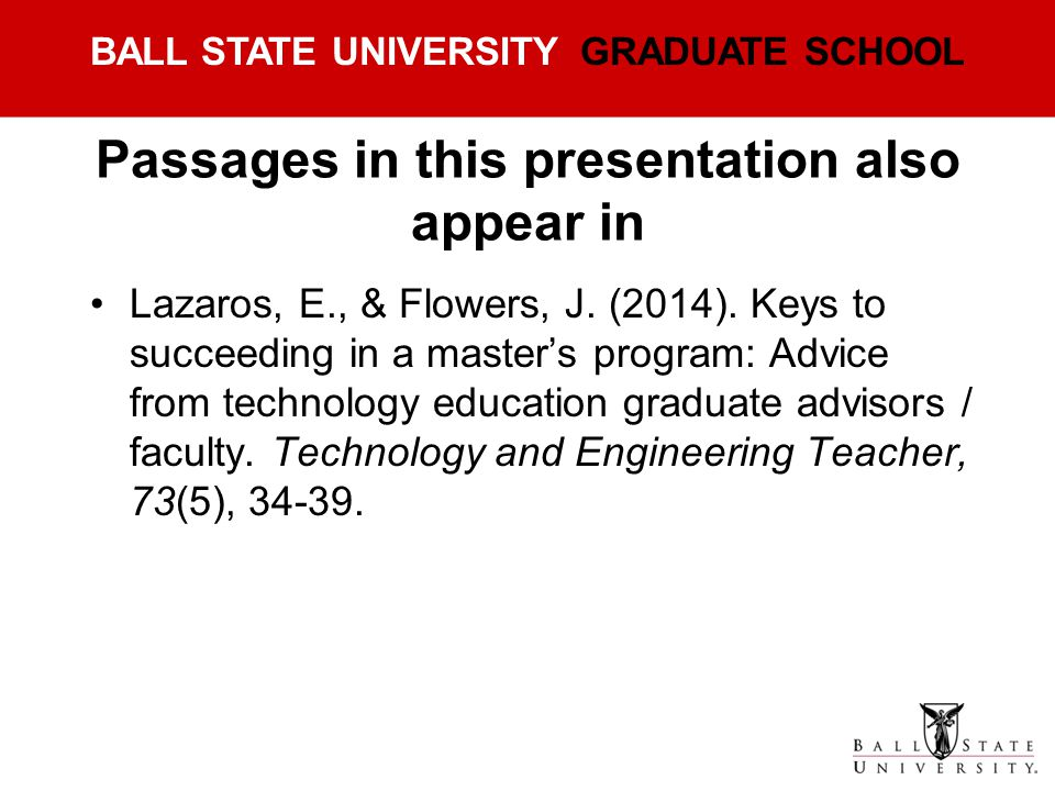 Passages in this presentation also appear in
