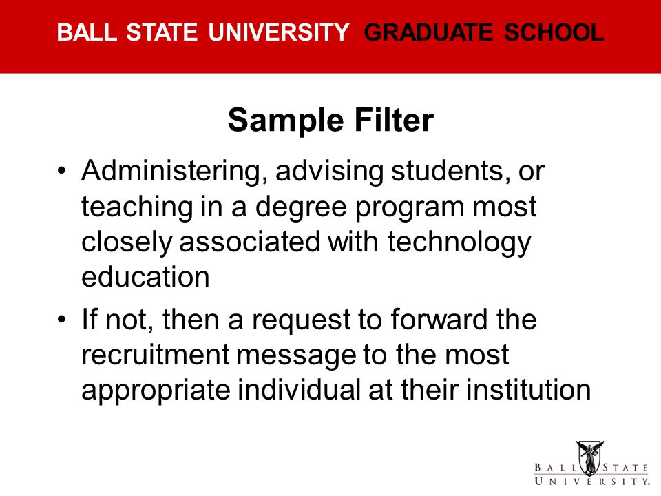 Sample Filter Administering, advising students, or teaching in a degree program most closely associated with technology education.
